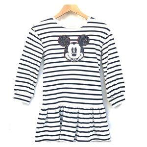 Gap Disney Mickey Mouse drop waist dress 8